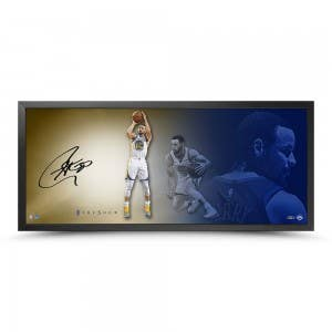 "Stephen Curry Autographed The Show ""Fluid"""