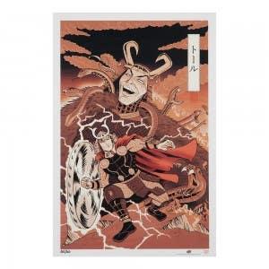 Thor – Japanese Woodblock Avengers