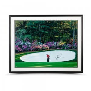 "Tiger Woods Autographed & Framed ""Azalea"" 40 x 30"