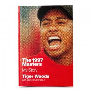 """Tiger Woods Autographed Book """"1997 Masters: My Story"""""""