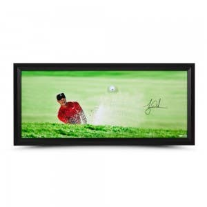 "Tiger Woods Autographed ""Breaking Through Precision"""