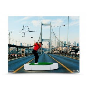 "Tiger Woods Autographed ""The Bridge"""