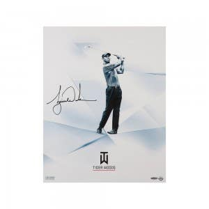 """Tiger Woods Autographed """"Clarity"""" 16 x 20"""