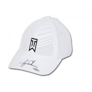Tiger Woods Autographed Nike AeroBill Heritage86 TW White Golf Cap