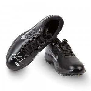 Tiger Woods Autographed Nike Air Zoom TW71 Golf Shoes