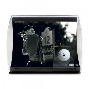 "Tiger Woods ""Gold Drive"" Curve Display"