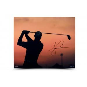 Tiger Woods Autographed Sunrise Picture