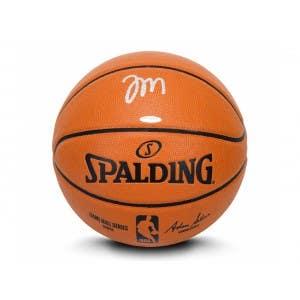Tyrese Maxey Autographed Indoor Outdoor Basketball