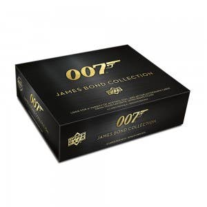 Upper Deck 007 James Bond Collection Trading Cards