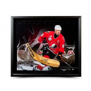 Wayne Gretzky Autographed Easton Stick Blade with Ice Cold Picture
