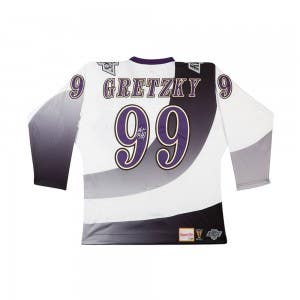 Wayne Gretzky Autographed 1995-96 Los Angeles Kings Authentic Mitchell & Ness Jersey