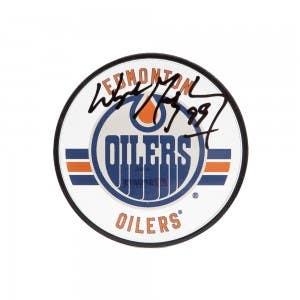 Wayne Gretzky Autographed Edmonton Oilers Acrylic Puck