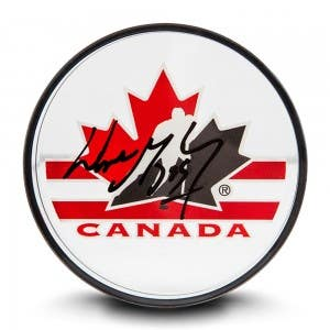 Wayne Gretzky Autographed Team Canada Acrylic Puck