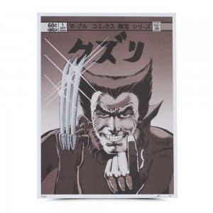 Wolverine Kuzuri Variant Gallery Print
