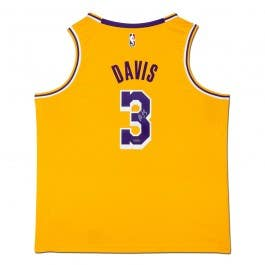 Anthony Davis Autographed Los Angeles Lakers Nike Swingman Icon Edition Jersey