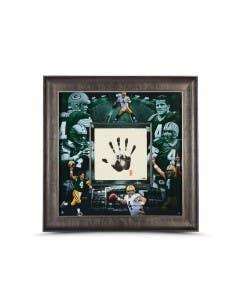Brett Favre Autographed Green Bay Packers Tegata 36 x 36