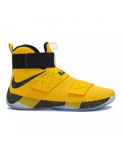 """LeBron James Game Worn """"LeBron Zoom Soldier 10"""" Shoe (Vs. Los Angeles Clippers)"""