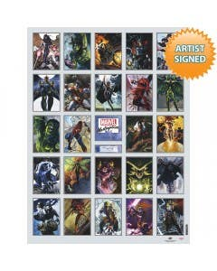 """Marvel Masterpieces """"What If"""" Regular Edition (Artist Signed)"""