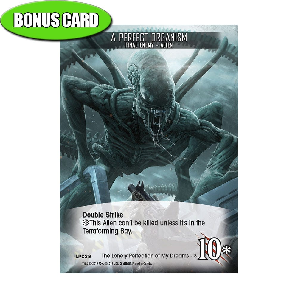 Alient Covenant Bonus Card