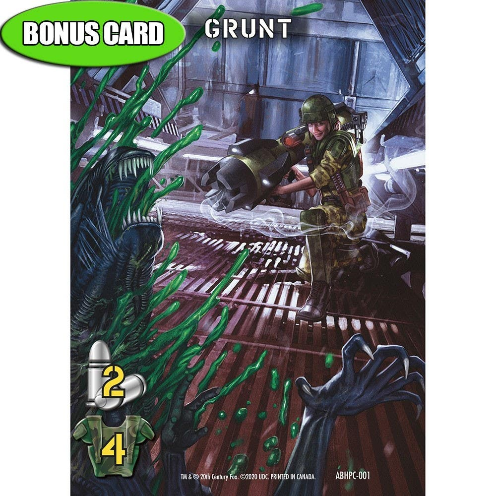 Aliens: Bug Hunt Bonus Card