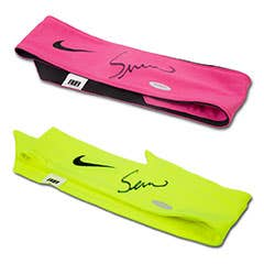 Serena Williams Autographed Headbands