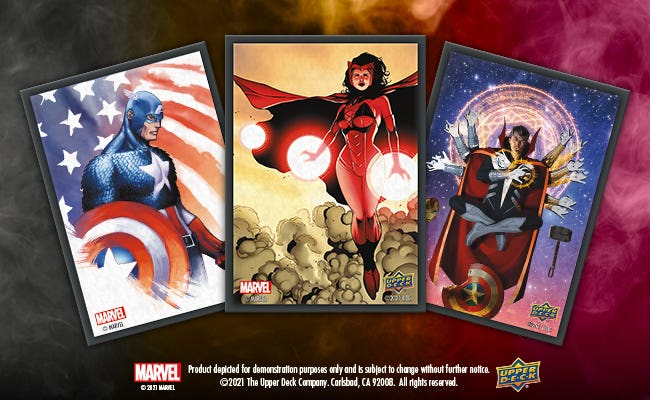 Marvel Scarlet Witch Sleeves (65 Count)