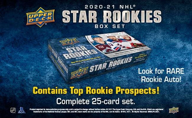 New 2020-21 NHL Rookie Box Set