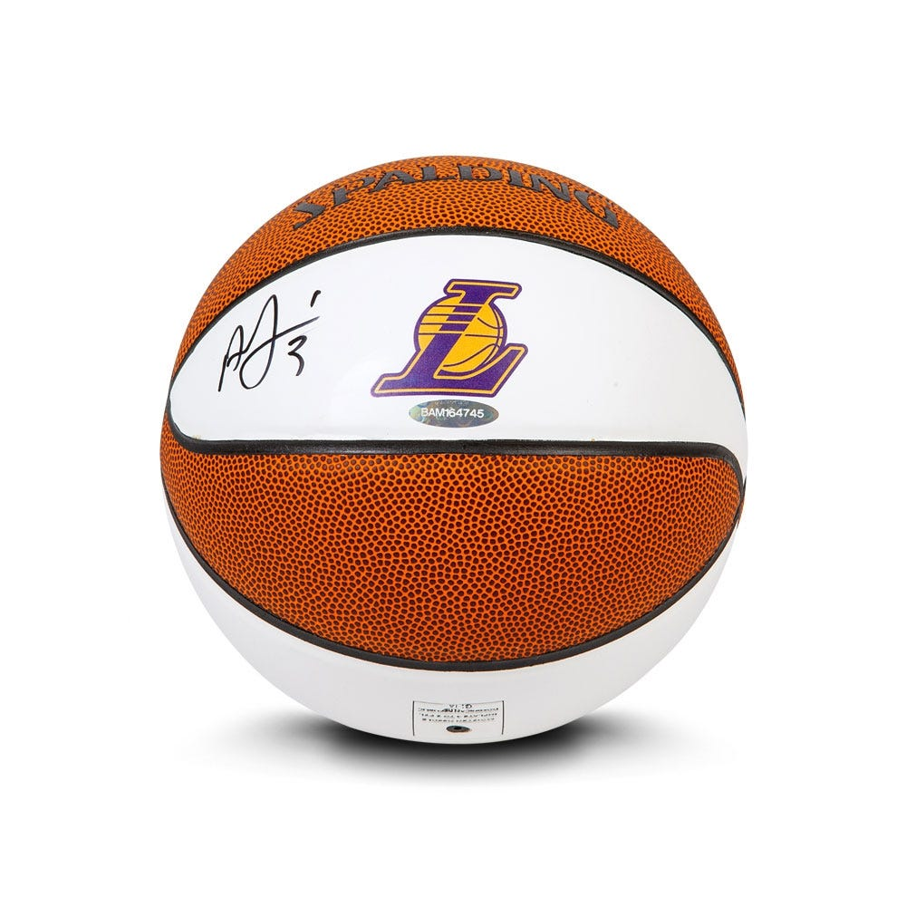Free* Anthony Davis Autographed Mini Basketball with NBA Purchase!