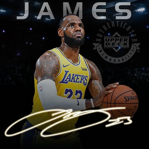 LeBron James Basketball Memorabilia