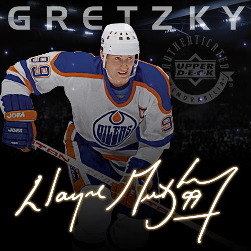 The Wayne Gretzky Signaure Hockey Collection